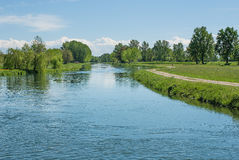 Manica di acqua per irrigazione agricola Immagine Stock Libera da Diritti