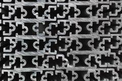 Manica di alluminio espulso Immagini Stock