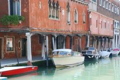 Manica nell'isola di Burano vicino a Venezia Fotografie Stock Libere da Diritti