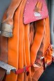 Manichetta antincendio a bordo della nave Fotografia Stock