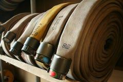 Manichette antincendio Fotografie Stock
