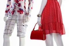 Manichini in abbigliamento alla moda Immagini Stock Libere da Diritti