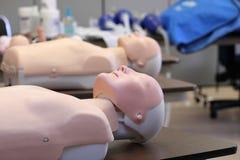 Manichini di addestramento di CPR Fotografia Stock Libera da Diritti