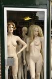 Manichini nudi Fotografia Stock Libera da Diritti
