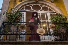 manichino del deposito, Sintra, d'annata, retro immagini stock libere da diritti