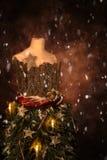 Manichino di Natale Immagini Stock