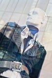 Manichino di un negozio di lusso di modo, Pechino, Cina Fotografia Stock