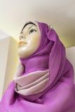 Manichino di una donna araba nel hijab Fotografia Stock