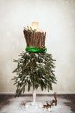 Manichino festivo di Natale Immagine Stock
