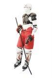Manichino vestito nell'hockey del vestiario di protezione royalty illustrazione gratis
