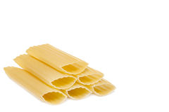 Manicotti stack Royalty Free Stock Image