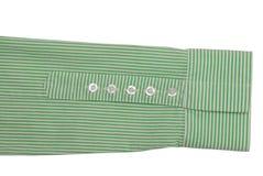 Manicotto e polsino della camicia Fotografie Stock Libere da Diritti