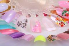 Manicura de los accesorios Foto de archivo libre de regalías