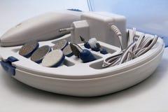 Manicura y conjunto eléctricos de Pedicure Imágenes de archivo libres de regalías