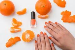 manicure естественный Стоковые Изображения RF