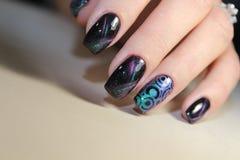 manicure Royaltyfri Fotografi