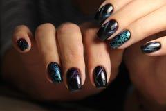 manicure Royaltyfri Bild