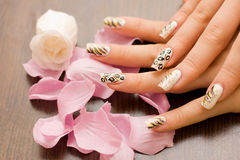 Free Manicure Stock Photography - 10600942