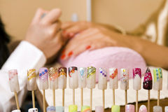 Manicure Imagens de Stock Royalty Free
