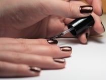 Manicure Royalty-vrije Stock Foto's