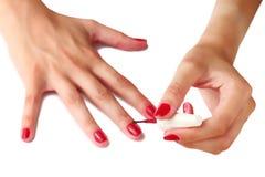manicure Стоковое Изображение RF