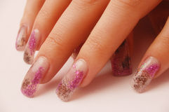 Manicure Immagini Stock Libere da Diritti