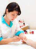 Manicure Stock Images