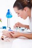 Manicure royalty-vrije stock foto
