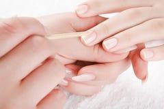 Manicure Fotos de Stock Royalty Free
