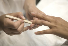 Manicure Foto de Stock Royalty Free
