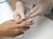 Manicure arkivbild