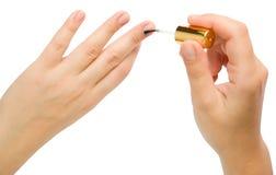 manicure Стоковая Фотография