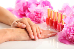 Manicure Fotografia Royalty Free