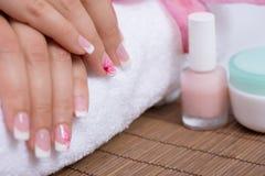 manicure Fotografia Stock Libera da Diritti
