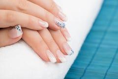 manicure stock fotografie