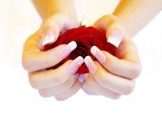 Manicure Immagini Stock