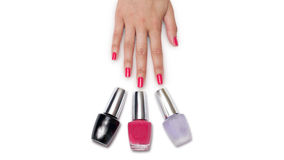 manicure Stock Foto's