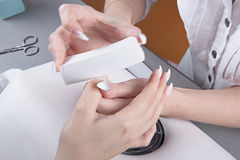 manicure Royalty-vrije Stock Afbeelding