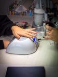 manicure Royalty-vrije Stock Afbeeldingen