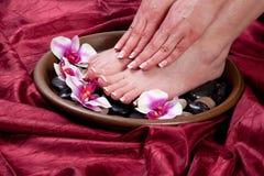 Manicure And Pedicure Stock Photo