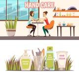 Manicure Banners Set