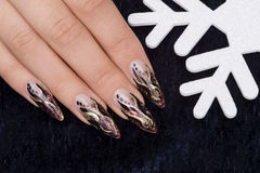 Manicure Royalty Free Stock Photography