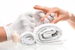 Manicure, classic manicure Stock Image