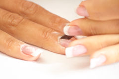 Manicure cut Stock Image