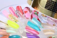 Manicure degli accessori fotografie stock