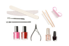 Manicure equipment Stock Image