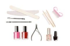Manicure equipment Stock Image