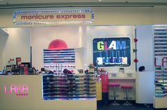 Manicure express in hong kong Royalty Free Stock Photos