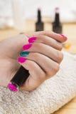 Manicure fantastico in un moderno Immagine Stock Libera da Diritti