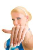 Manicure francês Foto de Stock Royalty Free